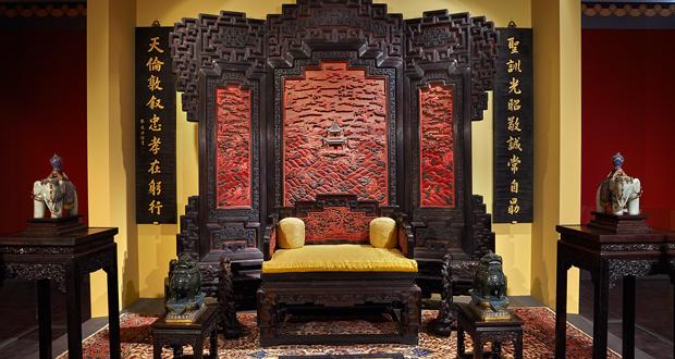 """Μουσείο Ακρόπολης: """"Από την απαγορευμένη πόλη: Αυτοκρατορικά διαμερίσματα του Qianlong"""""""