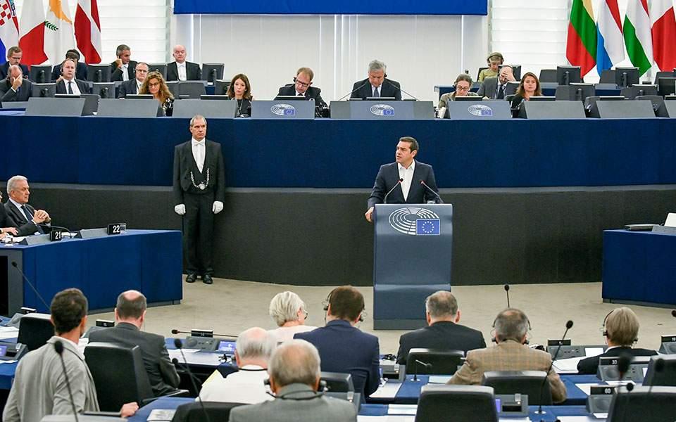 Οι αντιδράσεις για την ομιλία Τσίπρα στο Ευρωπαϊκό Κοινοβούλιο