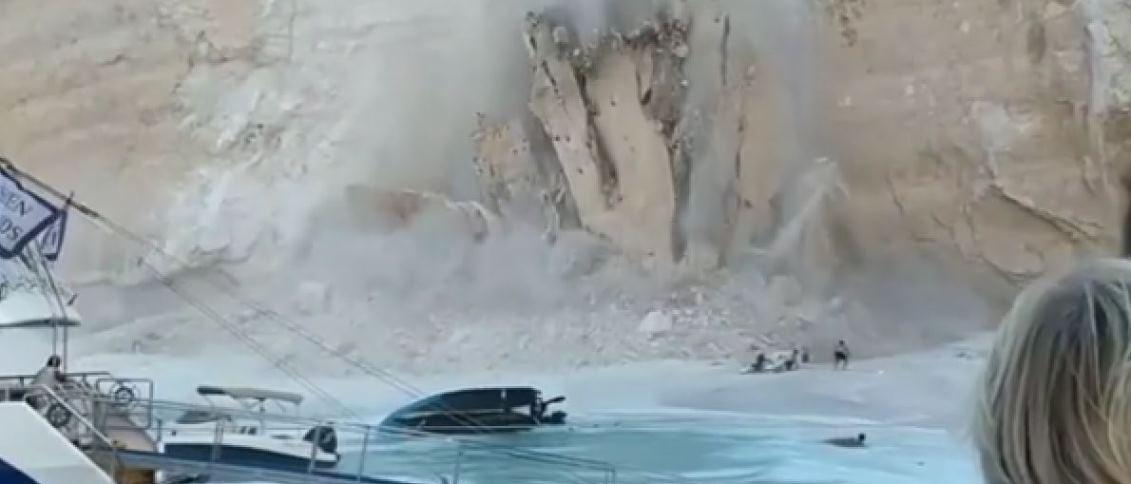 Νέο απίστευτο βίντεο από το Ναυάγιο στη Ζάκυνθο