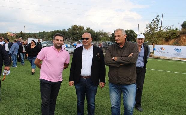 """Δημοτικό Γήπεδο Βαρυπέτρου: Εγκαινιάστηκε μια νέα αθλητική """"πηγή"""" στον Δήμο Χανίων"""