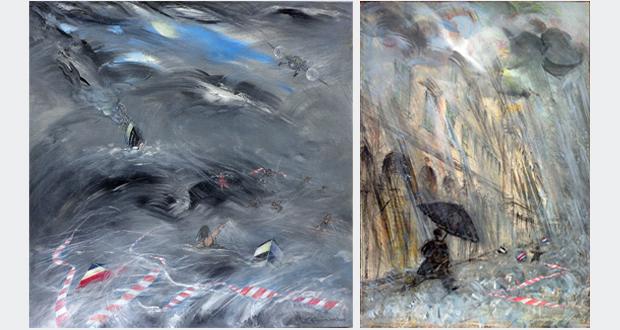 Καλλιτεχνική έκθεση του Σπύρου Κουρσάρη στην αίθουσα τέχνης «έκφραση – γιαννα γραμματοπουλου»