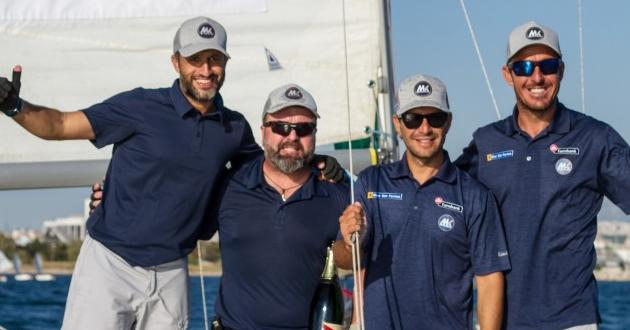 Η ομάδα των Μάντη – Καγιαλή μεγάλη νικήτρια στο Hellenic Match Racing Tour για πέμπτη συνεχόμενη χρονιά!