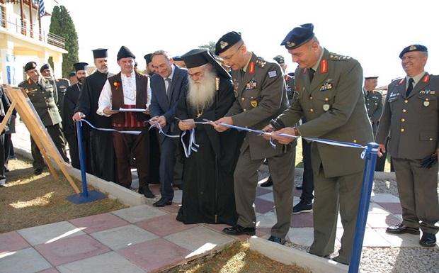 Τέλεση Εγκαινίων από τον Αρχηγό ΓΕΣ στο Στρατιωτικό Μουσείο Βαλκανικών Πολέμων