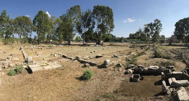 Η Νότια Παλαίστρα στην Ερέτρια, ανασκαφές 2018