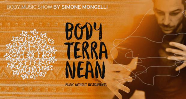 Simone Mongelli Bodyterranean – The Show: Όταν ο ήχος του σώματος παντρεύεται με την παράδοση (Music video)