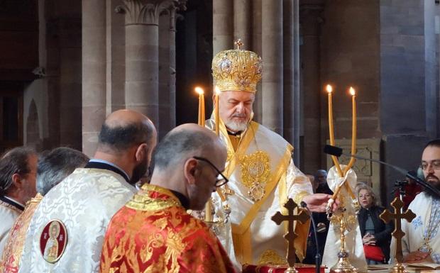 Η ελληνορθόδοξη ενορία των Τριών Ιεραρχών του Στρασβούργου γιόρτασε την 50ή επέτειο από την ίδρυσή της