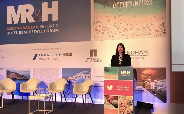 Έλενα Κουντουρά: Η Ελλάδα, η πιο ελκυστική ευκαιρία στη Μεσόγειο και την Ευρώπη για τουριστικές επενδύσεις