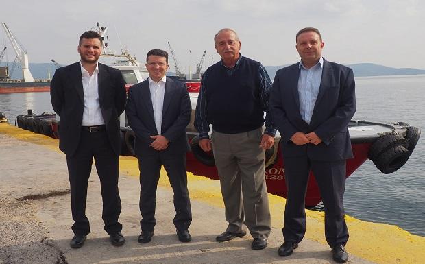 Επίσκεψη της Διοίκησης του ΤΑΙΠΕΔ στο Λιμάνι της Ελευσίνας