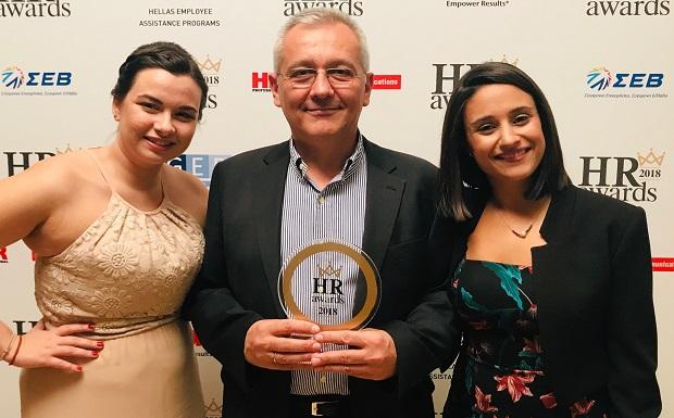 Χρυσή διάκριση για την AbbVie στα HR Awards 2018