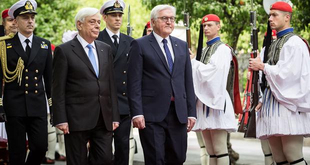 Επίσκεψη στην Ελλάδα του Προέδρου της Ομοσπονδιακής Δημοκρατίας της Γερμανίας