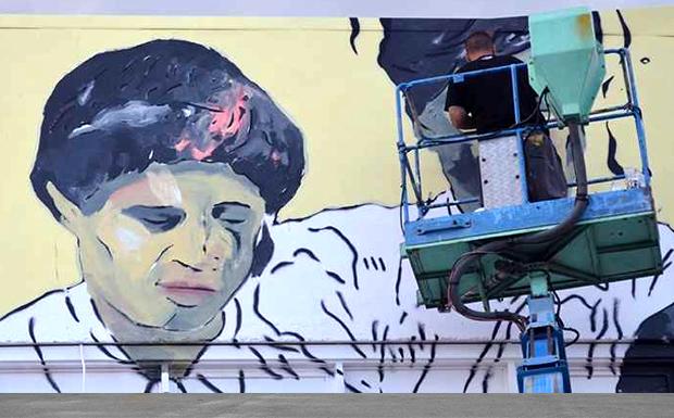 URBANACT – Νέα τοιχογραφία για τα 100 χρόνια του Αγροτικού Συνεταιρισμού «Η ΔΗΜΗΤΡΑ»