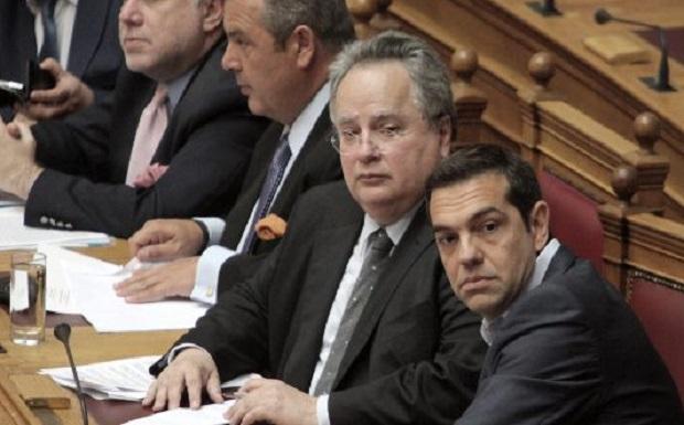 Παραιτήθηκε ο Ν. Κοτζιάς και ο πρωθυπουργός αναλαμβάνει το ΥΠΕΞ – Ζωντανά οι δηλώσεις