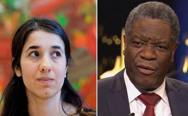 Νόμπελ Ειρήνης 2018: Ο γυναικολόγος και η «σκλάβα του σεξ» του Ισλαμικού Κράτους μοιράστηκαν το βραβείο