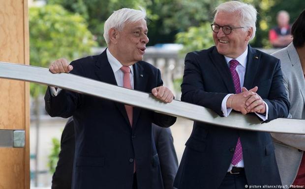 Ο γερμανικός Τύπος κάνει θρίλερ την επίσκεψη Στάινμαγερ