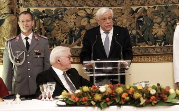 Σκοπιανό, Κυπριακό και Ελληνοτουρκικά έθεσε ο Παυλόπουλος στον Σταϊνμάγερ
