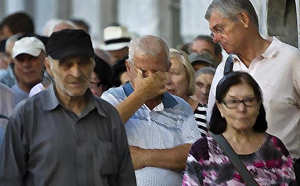 Όπου και να κοιτάξεις, βλέπεις μια Ελλάδα πληγωμένη…