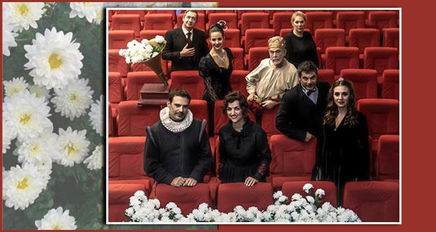 """Θέατρο Άλφα.Ιδέα: """"Ο καιρός των χρυσανθέμων"""" του Μάνου Ελευθερίου"""