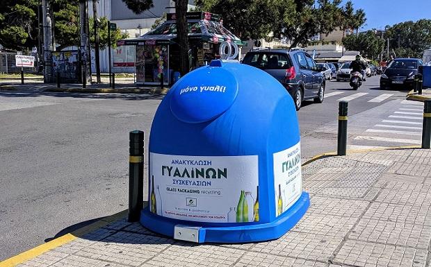 Η Γλυφάδα κερδίζει το στοίχημα της ανακύκλωσης