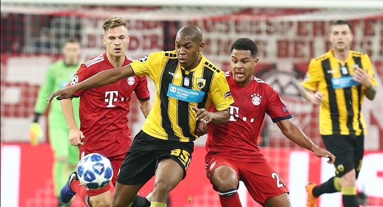 Ήττα για την ΑΕΚ στο Μόναχο 2-0 από την Μπάγερν