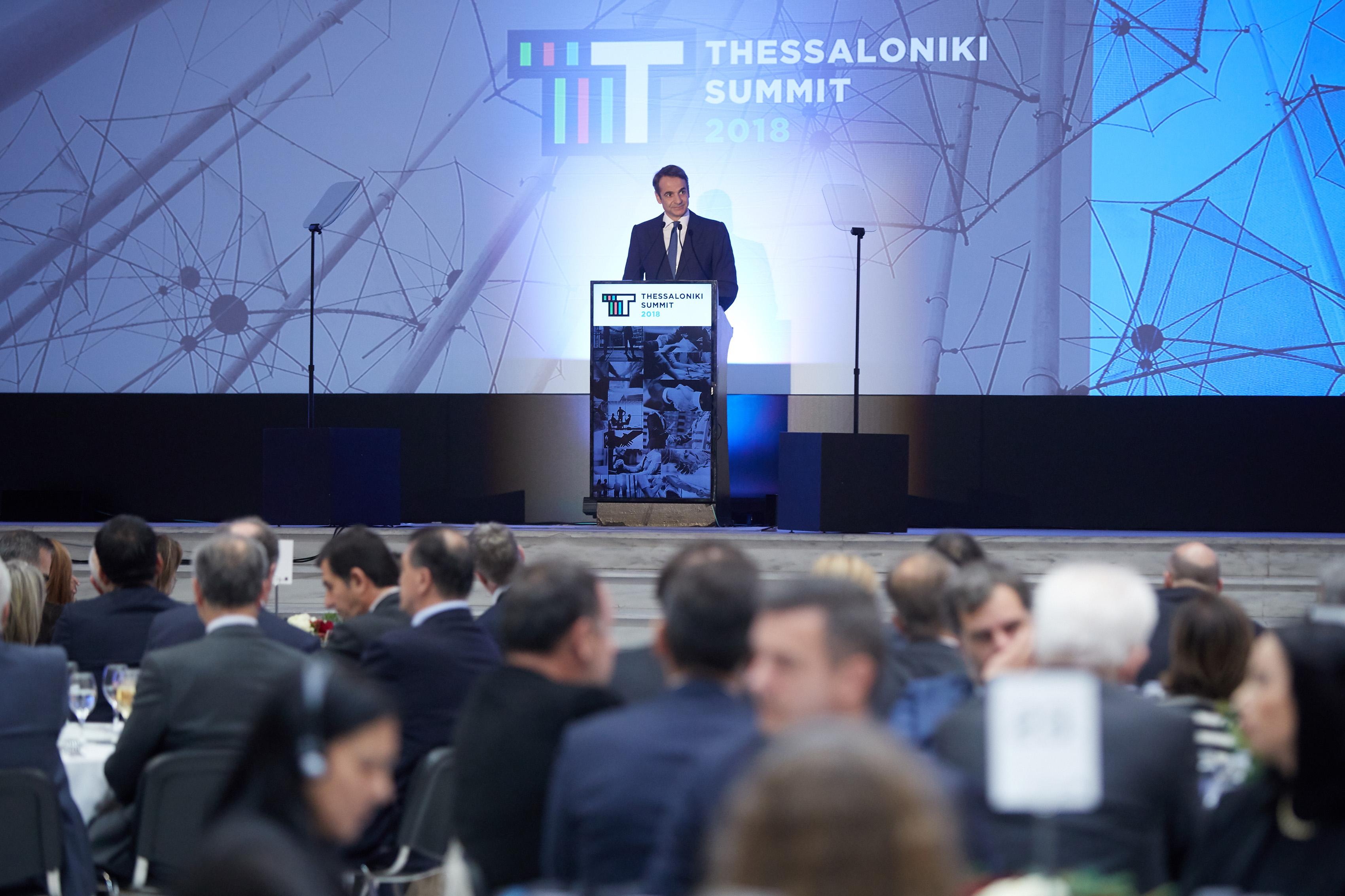 """Μητσοτάκης: Άκρατη παροχολογία από τον κ. Τσίπρα και νεκρανάσταση του """"Τσοβόλα δώστα όλα"""""""