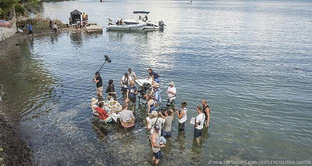 Ολοκληρώθηκαν τα γυρίσματα του 4ου κύκλου επεισοδίων της τηλεοπτικής σειράς THE DURRELLS στην Κέρκυρα
