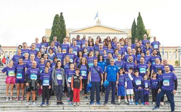 Δυναμική παρουσία της Ελληνικής Πνευμονολογικής Εταιρείας στον 36ο Αυθεντικό Μαραθώνιο της Αθήνας