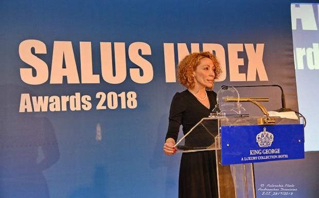 Η Roche Hellas διακρίθηκε στα Salus Index 2018 για την επένδυσή της στην καινοτομία