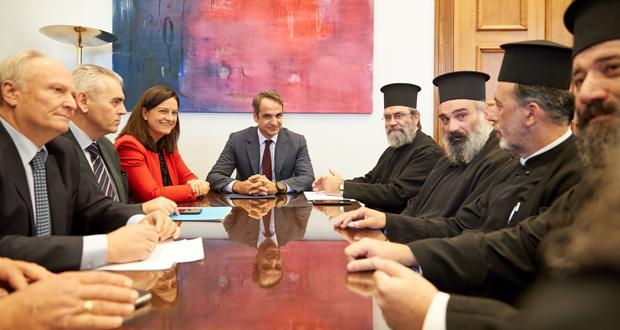 Μητσοτάκης: Θλίβομαι για το ότι η ηγεσία της Εκκλησίας της Ελλάδας τελικά χρησιμοποιήθηκε από τον κ. Τσίπρα