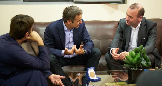 Επίσκεψη του Προέδρου της Ν.Δ. κ. Κ. Μητσοτάκη στην Κιβωτό του Κόσμου