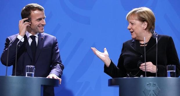 Κάλεσμα Μακρόν σε Μέρκελ για επανίδρυση της Ευρώπης