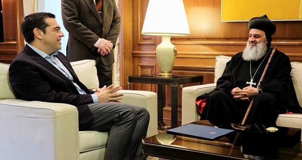 Συνάντηση του Αλ. Τσίπρα με τον Πατριάρχη Αντιοχείας