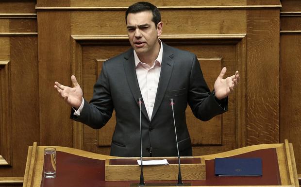 Ζωντανά στη Βουλή η ομιλία του Αλέξη Τσίπρα
