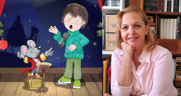 """Συνέντευξη με την συγγραφέα Πηνελόπη Μωραΐτου για το νέο βιβλίο της """"Ο Άγγελος, ο Ποντικόβεν και η Αγία Νύχτα"""""""