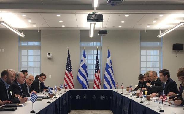 Με «θετικούς οιωνούς» η έναρξη του στρατηγικού διαλόγου Ελλάδας – ΗΠΑ