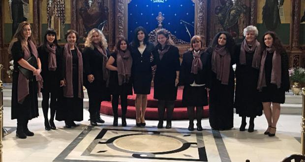 """Η γυναικεία Βυζαντινή Χορωδία """"Ψάλτριες"""" της Νεκταρίας Καραντζή σε νέα ηχογράφηση"""