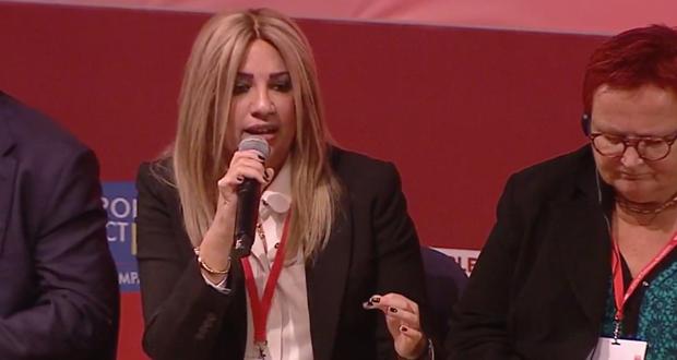 Φ. Γεννηματά από Λισαβόνα: Το ΚΙΝΗΜΑ ΑΛΛΑΓΗΣ είναι ο πολιτικός φορέας αποτροπής του εθνολαϊκιστικολυ μετώπου στην Ελλάδα