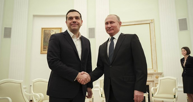 Ο διάλογος Πούτιν-Τσίπρα στο Κρεμλίνο