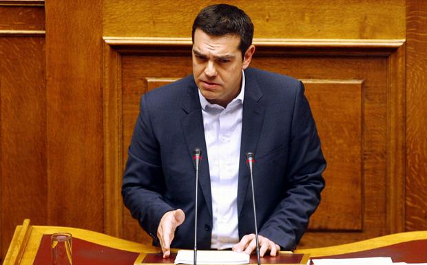 LIVE: Στο βήμα της Βουλής o Αλέξης Τσίπρας