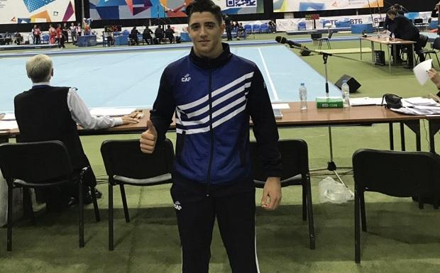 «Χάλκινος» στους κρίκους των εφήβων ο Τσιγγελίδης, στο Κύπελλο «Μιχαήλ Βορονίν»