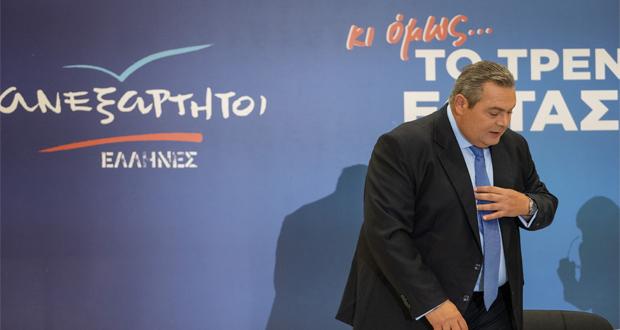 Δεν κατεβαίνουν στις εκλογές της 7ης Ιουλίου οι ΑΝΕΛ – Π. Καμμένος: Ακούσαμε τη φωνή του ελληνικού λαού