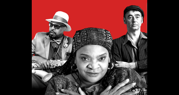 ANGELA BROWN & INTERNATIONAL BLUES DUO: THE … JOINED FORCES OF THREE BLUES GREATS
