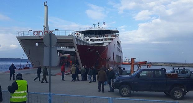 Ανακοίνωση δημάρχου Σαμοθράκης, Θ. Βίτσα, με ευχαριστίες σε όσους βοήθησαν στην προσωρινή λύση για την ακτοπλοϊκή σύνδεση του νησιού