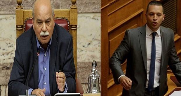 Παραλήρημα Κασιδιάρη στη Βουλή – Η έντονη αντίδραση Βούτση (βίντεο)