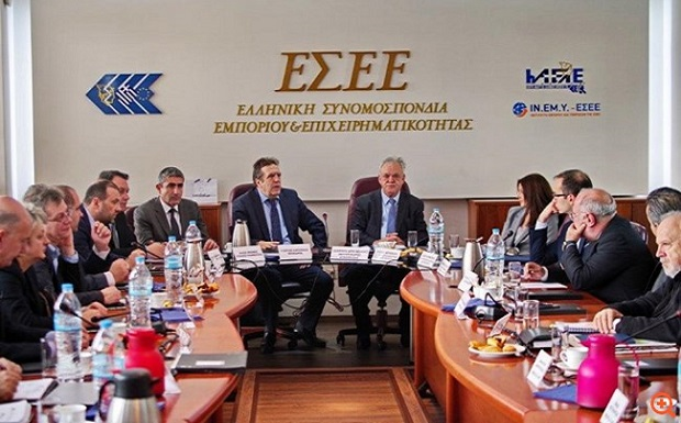 Συνάντηση του Αντιπροέδρου της Κυβέρνησης και Υπουργού Οικονομίας και Ανάπτυξης με το Δ.Σ. της ΕΣΕΕ