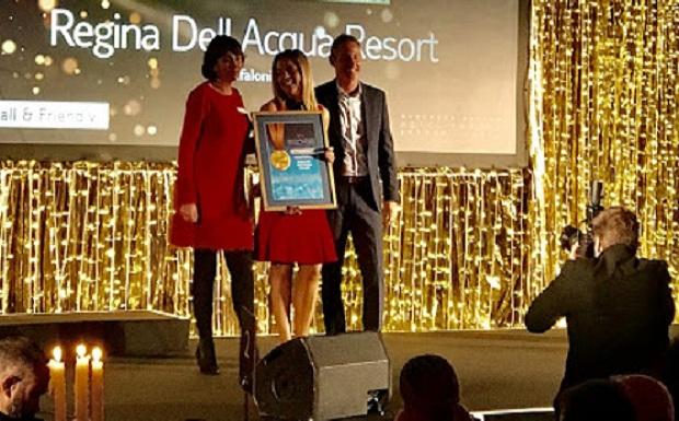 Για άλλη μία χρονιά, το Regina Dell Acqua Resort and Spa απέσπασε το χρυσό μετάλλιο της TUI…