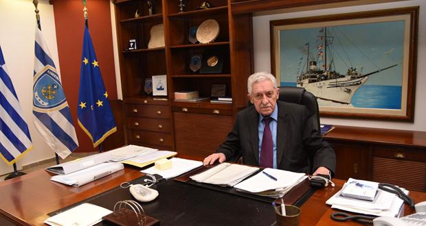 Απάντηση του ΥΝΑΝΠ Φ. Κουβέλη στις δηλώσεις του Κυριάκου Μητσοτάκη για τη λιμενική πολιτική