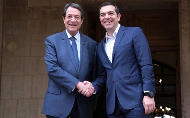 Αλ. Τσίπρας: Ελλάδα – Κύπρος αποτελούν αταλάντευτους υπερασπιστές της ειρηνικής επίλυσης των διαφορών, της συνεργασίας μεταξύ των χωρών και των λαών