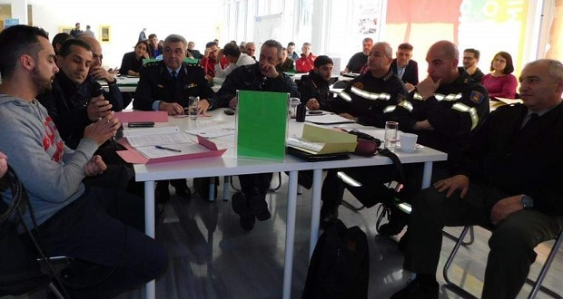 Μεγάλη συμμετοχή στην άσκηση ετοιμότητας για σεισμό στην Περιφερειακή Ενότητα Κεντρικού Τομέα