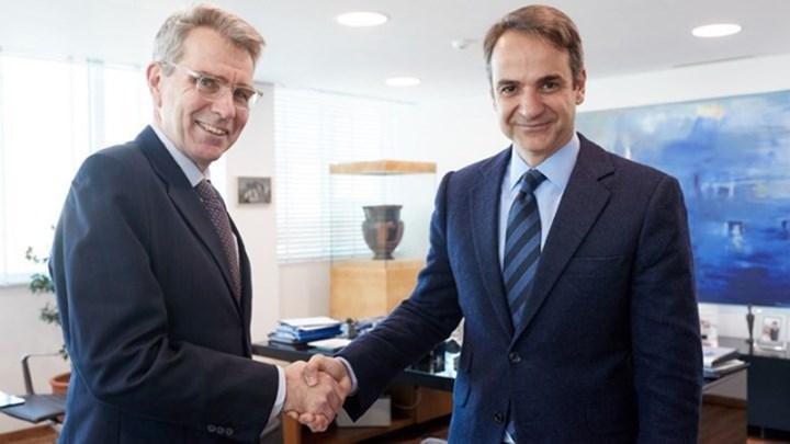 Με τον Αμερικανό πρέσβη συναντήθηκε ο Μητσοτάκης – Τι συζητήθηκε