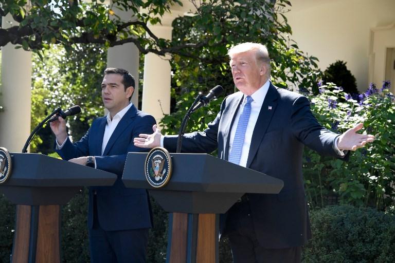 Τραμπ σε Τσίπρα για «Πρέσπες»: «Πυλώνας σταθερότητας η Ελλάδα, να εμπνεύσει και άλλες χώρες η συμφωνία»